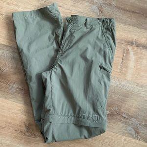 COLUMBIA PFG Nylon Zip Off Hiking Pants